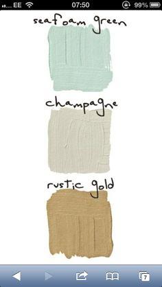 Colour scheme...serene! #CILserenity