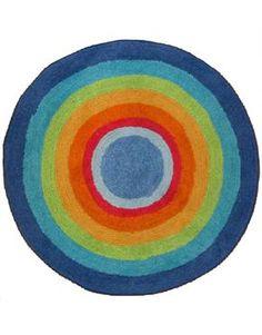 Rainbow rug Chicago Cubs Logo, Team Logo, Homeschool, Textiles, Nursery, Rainbow, Colour, Quilts, Blanket