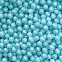 Blue Edible Sugar Pearls Dragees Decoration Balls 2 Ounces by Lucks -- Details can be found by clicking on the image. (It is an affiliate link and I receive commission through sales)