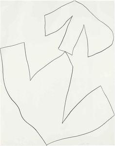 Ellsworth Kelly - Untitled, 1960, graphite on paper