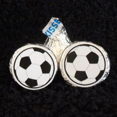 candy stickers for soccer post season party