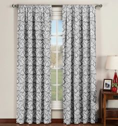 Victoria Extra Wide Curtain Panel