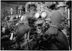 Series of old Grinnell dry valves. Fire Sprinkler