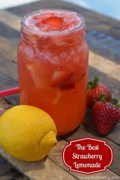 The Best Strawberry Lemonade Recipe