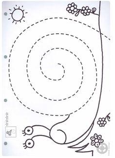 Risultati immagini per ejercicios grafomotrices Preschool Writing, Numbers Preschool, Preschool Learning Activities, Preschool Printables, Kindergarten Worksheets, Toddler Activities, Preschool Activities, Kids Learning, Preschool Centers