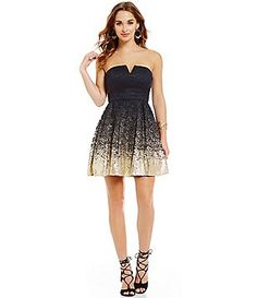 B Darlin Beaded Waist Party Dress Dillards The Style Of