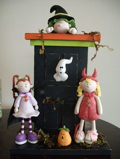 Figuras de pasta flexible para Halloween - Imagui