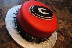 Georgia Bulldogs cake by Ashton Wait