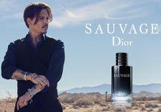 Johnny Depp, nueva imagen de Christian Dior Perfumes