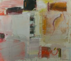 """LAVORO a STUCCO  2004  , 20 x 24""""  , oil on paper affixed to wd panel  ; George Marshall Store Gallery"""