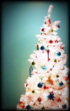 My White Christmas Tree