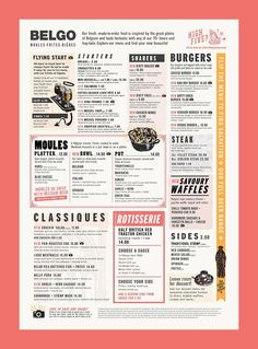 A division of UnderConsideration, cataloguing the underrated creativity of menus from around the world. Spanish Restaurant Menu, Spanish Menu, Tapas Menu, Bbq Menu, Restaurant Menu Design, Restaurant Branding, Restaurant Restaurant, Diner Menu, Digital Menu