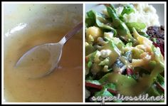 Nydelig salat og verdens beste salatdressing: Honey Dijon! | Superlivsstil.net