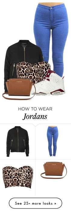 """// Baby You My All In All //"" by cookiesncreamluv on Polyvore featuring Topshop, River Island, NIKE, MICHAEL Michael Kors, women's clothing, women, female, woman, misses and juniors"