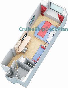 Tui Discovery Junior Suite Floor Plan Cruise Pinterest