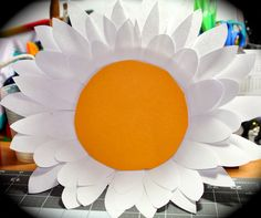 Paper Plate Flower: