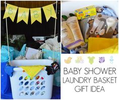 Unique Baby Shower Gift Idea Laundry Basket