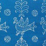 Русская набойка на ткани