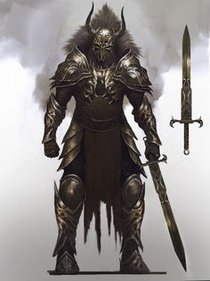 ArtStation - Knight , Armiche Lora