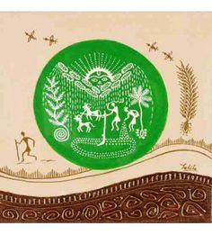 Farming Warli Painting