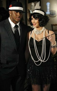 costumes 6 Hot Kim Kardashian Halloween Looks: . Harlem Nights Costumes, Harlem Nights Theme Party, Gangster Costumes, Kim Kardashian Halloween, Great Gatsby Themed Party, Great Gatsby Dresses, Roaring 20s Party, Queen Outfit, How To Look Skinnier