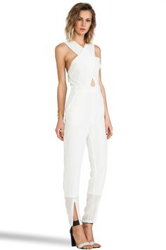 6b61b46c3c6 Maurie   Eve Glow Jumpsuit in White (Seashell) - Lyst Maurie Eve