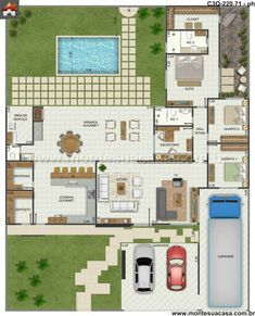 Bali Style House Floor Plans – Styles Of Homes With Pictures ...