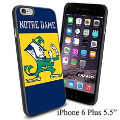"NCAA ND NOTRE DAME FIGHTING IRISH , Cool iPhone 6 Plus (6+ , 5.5"") Smartphone Case Cover Collector iphone TPU Rubber Case Black [By NasaCover] NasaCover http://www.amazon.com/dp/B012BCGZ08/ref=cm_sw_r_pi_dp_YaoXvb1XXQ8G3"