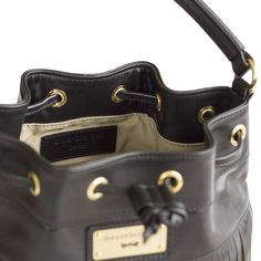 PURE leather bucket bag - designed by Annamaria Pap Best Designer Brands, Leather Bags Handmade, Bucket Bag, Wallets, Pure Products, Luxury, Gold, Accessories, Collection