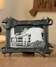 Not specifically car parts, but a nice Father's Day gift idea - would be easy to put together for any handyman. Shared by www.highroadorganizers.com