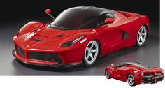 Tamiya LaFerrari kit--get it as a TT-02 or TB-04!