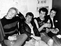 Sid Vicious Singer Punk Band the Sex Pistols with Johnny Rotten ...