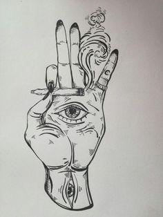 doodle art creative * doodle art - doodle art journals - doodle art for beginners - doodle art easy - doodle art patterns - doodle art drawing - doodle art creative - doodle art letters Trippy Drawings, Dark Art Drawings, Pencil Art Drawings, Art Drawings Sketches, Tattoo Sketches, Easy Drawings, Tattoo Drawings, People Drawings, Doodle Art Drawing