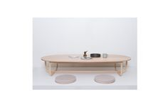 Capsule Low Dinning Table(with seat pads)