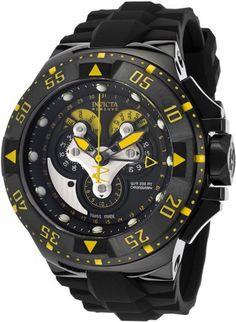 El modelo Invicta Reserve 18556, reloj Swiss Made, cristal Flame Fusion y resistencia al agua de 20 atms.