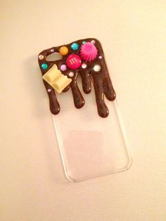 iPhone 5/5s iPhone 5c Sweet With Chocolate Decoden Phone Case. Kawaii, Cute Can be made for ANY phone