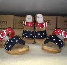 Sven Clogs, Sandra Dee, Wooden Sandals, Platforms, Liberty, Shoe Boots, Wedges, Amp, Stars