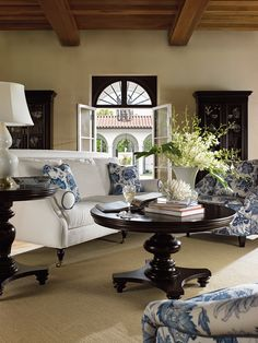 Love this room - except for the white!