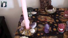 Ogham Coll Hazel Altar updated