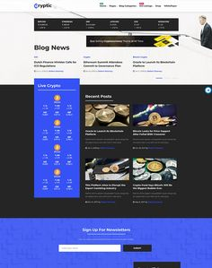 Cryptic - Cryptocurrency WordPress Theme - ModelTheme Crypto Bitcoin, Big Bubbles, Crypto Currencies, Blockchain, Cryptocurrency, Wordpress Theme, Blog, Blogging