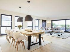 Penthouse: moderne Esszimmer von honey and spice