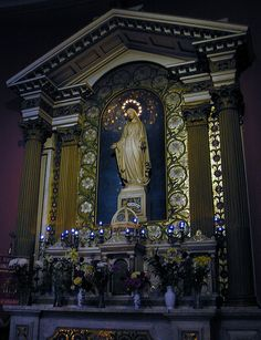 Altar of the Immaculate Conception at St. Mary Pro-Cathedral, Dublin, Ireland