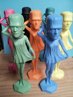 Frankencutie custom toy