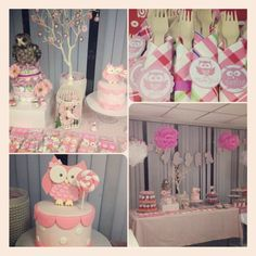 Pink Owl party