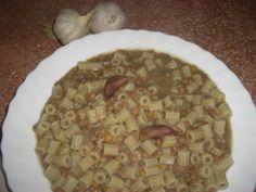 Pâtes aux lentilles Oatmeal, Pasta, Or, Breakfast, Lentil Soup, One Pot, Italian Cuisine, Conch, Sicily