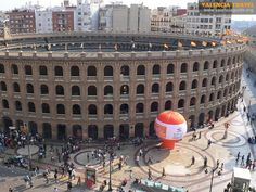 valencia bullring - but not any fights just tours i think