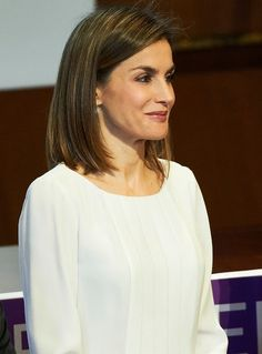 Queen Letizia of Spain attended the FEDER (Rare Diseases Federation ) World Day Event at the CSIC on March 3, 2016 in Madrid, Spain. (Every year the Spanish Federation for Rare Diseases (FEDER) holds the campaign Rare Disease Day with a variety of events and conferences. Some of the events held are conferences, congresses, round table events and press conferences . All these activities are encompassed in the Campaign for Rare Disease Day).
