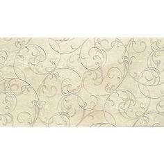 Prezzi e Sconti: #Piastrella con decoro botticino beige 30 x 60  ad Euro 39.90 in #Leroymerlin #Rivestimenti bagno
