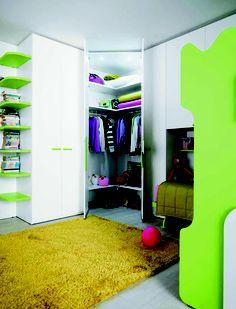 Tiener slaapkamer goodnight teens room on pinterest tes met and bureaus - Tiener met opbergruimte ...