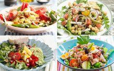 Pasta Salad, Cobb Salad, Salad Recipes, Healthy Recipes, Healthy Food, Spice Rub, Poke Bowl, Dressing Recipe, Kung Pao Chicken